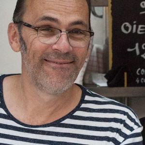 Franck Roullé auf dem Rüttenscheider Markt